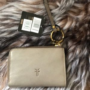 Frye leather wallet NWT retail $98